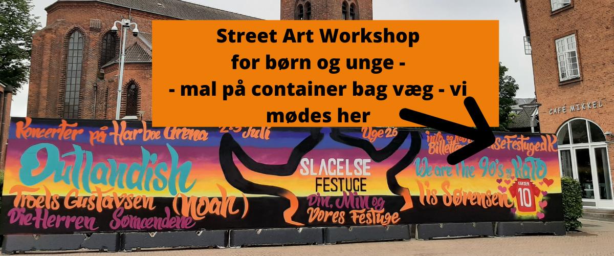 Street Art Workshop for børn